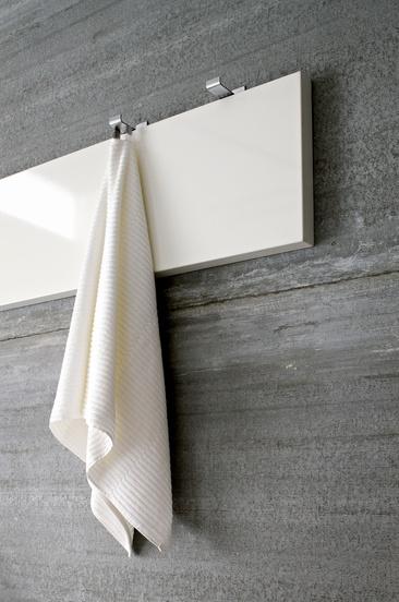 Steel coat hangers for bathroom towels by Rexa design _: Spaces Bathroom, Bathroom Towels, Interiors Bathroom, Minimal Bathroom