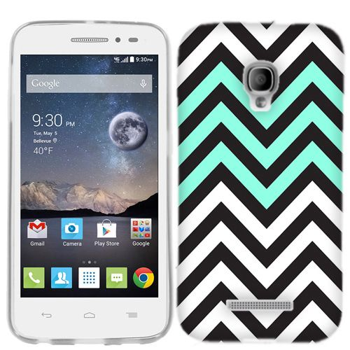 Cell Cases USA - Alcatel One Touch Pop Astro Mint Black Chevron Case Cover, $9.99 (http://cellcasesusa.com/alcatel-one-touch-pop-astro-mint-black-chevron-case-cover/)