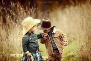 *Now, this is how a cowboy treats his cowgirl~<3