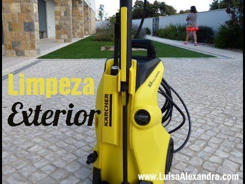 Limpeza Exterior • Kärcher K 4 Full Control • Lavadora de Alta Pressão [Vídeo] – Luísa Alexandra