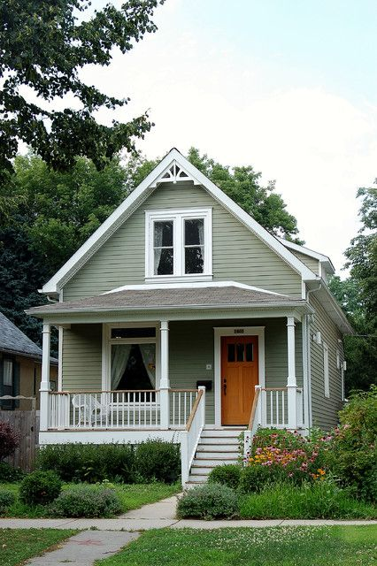 This is the house that Momma put her down payment on and moves into with her family at the end of the book.
