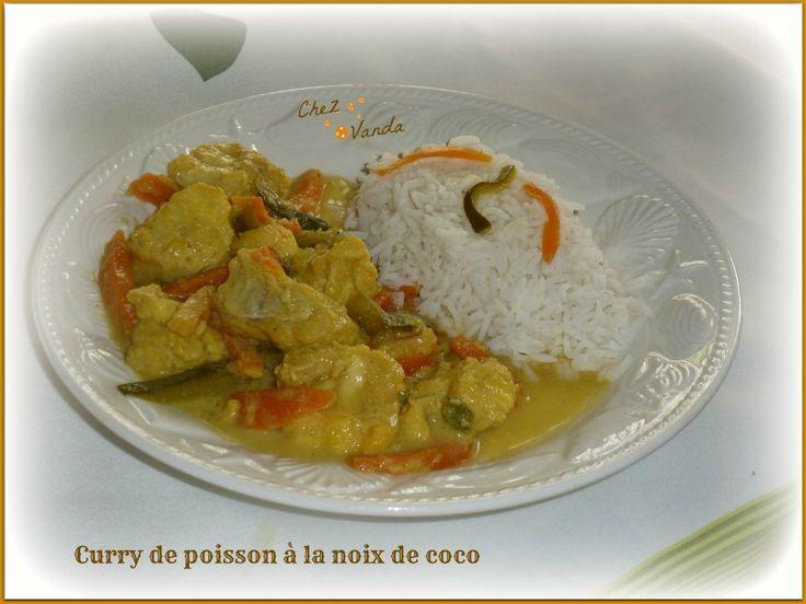Curry de poisson à la noix de  coco