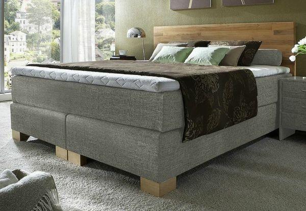boxspringbetten im test grau schlafzimmer modern box Pinterest - möbel höffner schlafzimmer