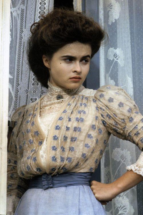 "Helena Bonham Carter - ""A Room with a View"" (1985) - Costume designers : Jenny Beavan & John Bright"