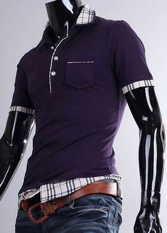 Fantasy Cotton Summer Polo Shirts With Plaid – teeteecee - fashion in style