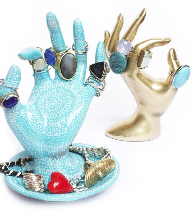 DIY ring holder from Alisa Burke