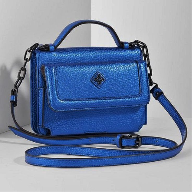 Just in!  Simply Vera Women... Check it out here: http://eden-online-boutique.com/products/simply-vera-womens-crossbody-vera-wang-bag-size-5h-x-6-75w-electric-blue?utm_campaign=social_autopilot&utm_source=pin&utm_medium=pin