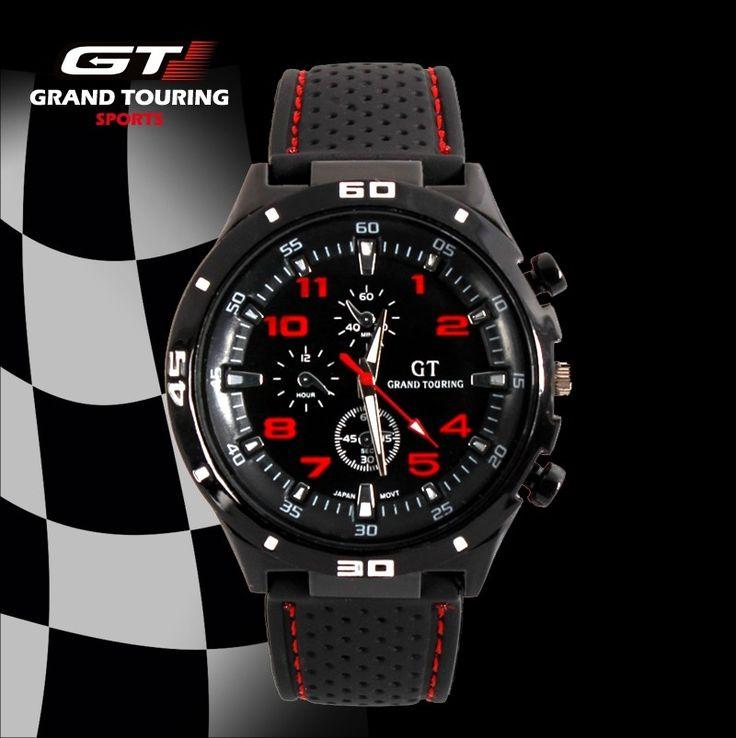 Pánské sportovní hodinky GT Grand Touring F1 inspirované závody Formule 1 – SLEVA 70% A POŠTOVNÉ ZDARMA Na tento produkt se vztahuje nejen zajímavá sleva, ale také poštovné zdarma! Využij této výhodné nabídky a ušetři …