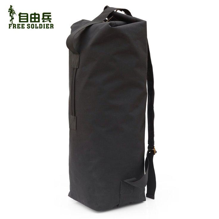 Внестудийный нейлоновый рюкзак, сумка-ведро, городская сумка, туристическая сумка, лагерь отдых, альпинистский рюкзак Цзыюбин Free Soldier 1000D нейлон