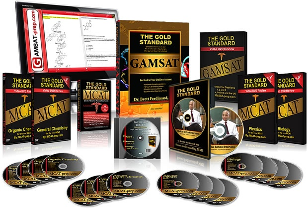 The Gold Standard Complete GAMSAT Course:  http://www.gamsat-prep.com/Gold-Standard-Complete-GAMSAT-Course--GAMSAT-Score-Guarantee-  Over 15 Section 1 mini-tests, 16 essays corrected, 5 full-length exam papers, Section 3 science review weekend live course, Practice test weekend live course  * Choose to attend the 4 full days of Live Courses within 2 years of your purchase; complete your 16 essays within 2 years if needed   * Get the score you want or repeat online access for free
