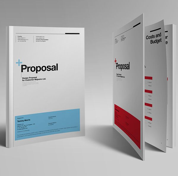 Best Proposal Images On   Editorial Design Journals