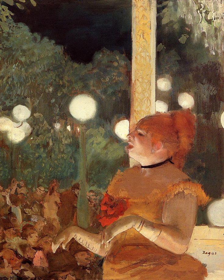 Edgar Degas (1834-1917)  Song of the Dog  Gouache  1876-1877