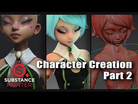 3D Character Design Contest 2016 - Character Creation part 2