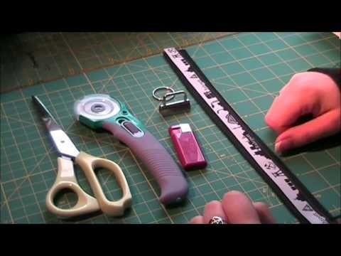 D.I.Y. kostenlose Nähanleitung für ein  Schlüsselband (Schlüsselanhänger) i…