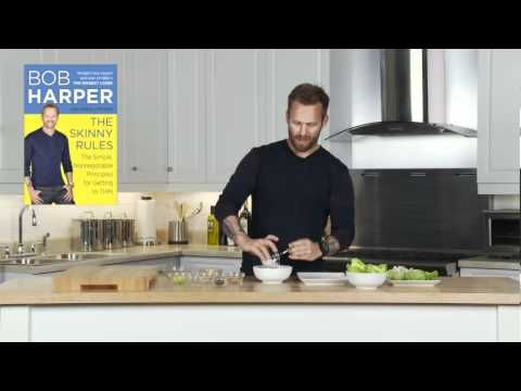 Bob Harper's SKINNY RULES recipe for Chicken Salad Cups - rule #15 - eat at least 10 meals a week at home (and cook them yourself).