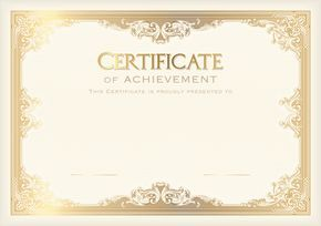 Certificate Template PNG Clip Art Image                                                                                                                                                                                 More