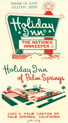 Holiday Inn of Palm Springs (1960s)