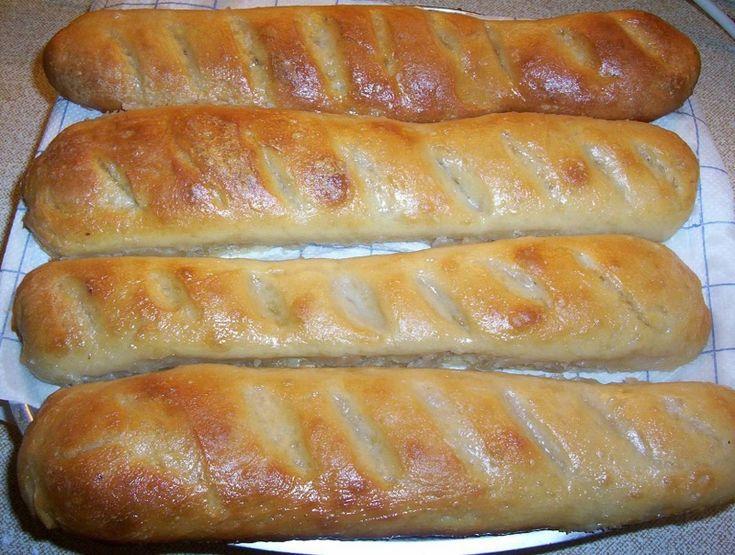 0156. podmáslové bagety od EVA. - recept pro domácí pekárnu