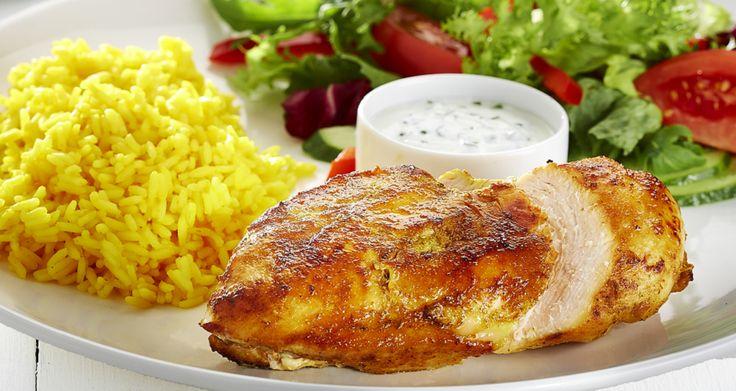 Kurczak curry z miętą