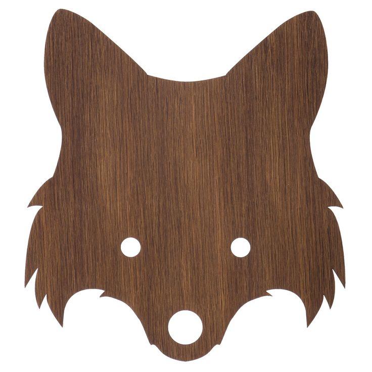 Fox Lamp vegglampa, eik – Ferm Living – Kjøp møbler online på ROOM21.no