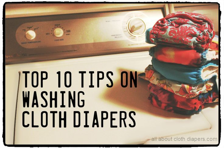 We've all heard the horror stories about washing cloth diapers. But just because you've read about them, it doesn't mean your fluff has to fall victim to stink, rashes and leaks. There are a million ways to get clean cloth diapers. The only real 'rule' is no synthetic fabric softeners.* Everything else is subject to interpretation. I don't know the details of your life, your diapers or your wash routine. But these are tips that should make sense for most people.