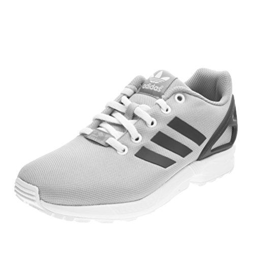 ZX Flux, Sneakers Basses Homme, Blanc (Core White/Grey), 48 EUadidas Originals