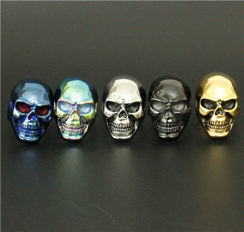 Colorful Stainless Steel Big Skull Ring //Price: $12.69 & FREE Shipping //     #skull #skullinspiration #skullobsession #skulls
