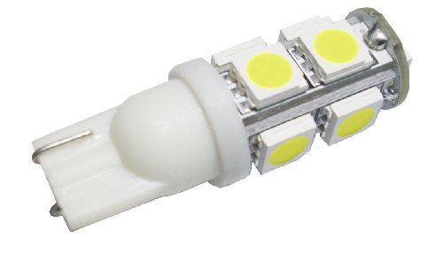 GRV T10 921 194 9-5050 SMD LED Bulb lamp High Bright Cool White DC 12V Pack of 10
