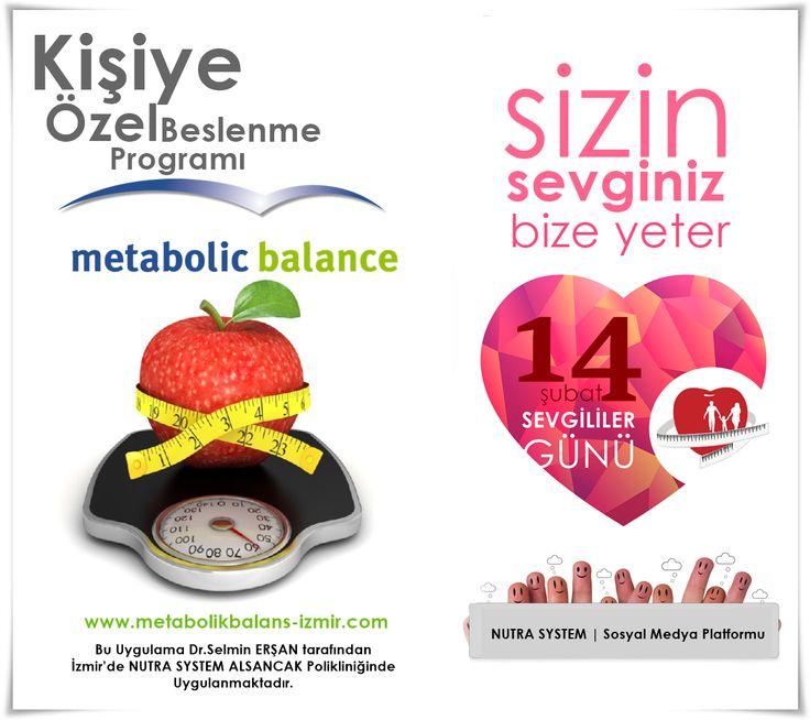 Metabolic Balance Programı ile Sağlığınızı Destekleyin!  Metabolic Balance programımıza katılmak için randevu ve bilgi: 02323-4633163 numaralı telefondan alınabilir.