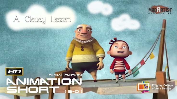 A CLOUDY LESSON | Good ideas come from happy accidents - 3D CGI Animatio...
