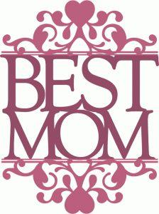 Worlds Best Mom Svg Designs