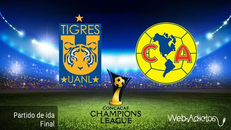 Tigres vs América, Final de Concachampions 2016 ¡En vivo por internet! - https://webadictos.com/2016/04/20/tigres-vs-america-final-concacaf-2016/?utm_source=PN&utm_medium=Pinterest&utm_campaign=PN%2Bposts