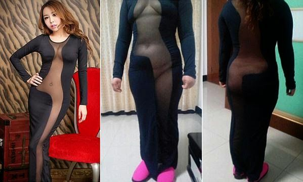 Ekpo Esito Blog: Chinese woman suffers an online shopping fail with...