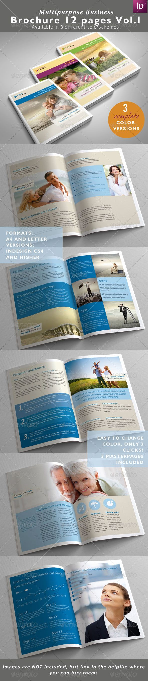 13 best InDesign Templates images on Pinterest | Indesign templates ...