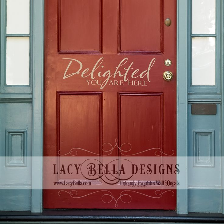 100 Best Entryway Decal Designs Images By Lacy Bella