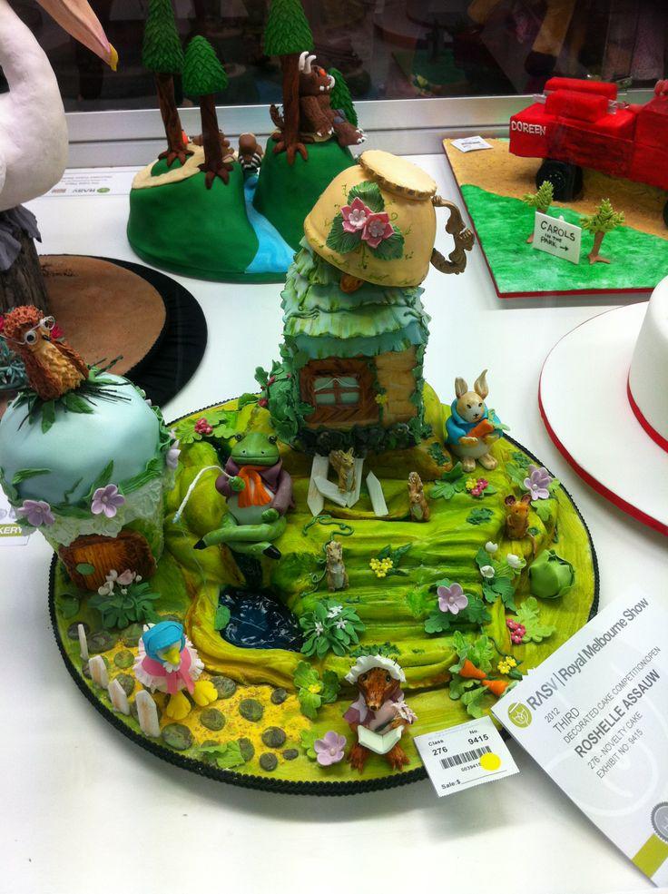 Royal Melbourne Show Cake Exhibits