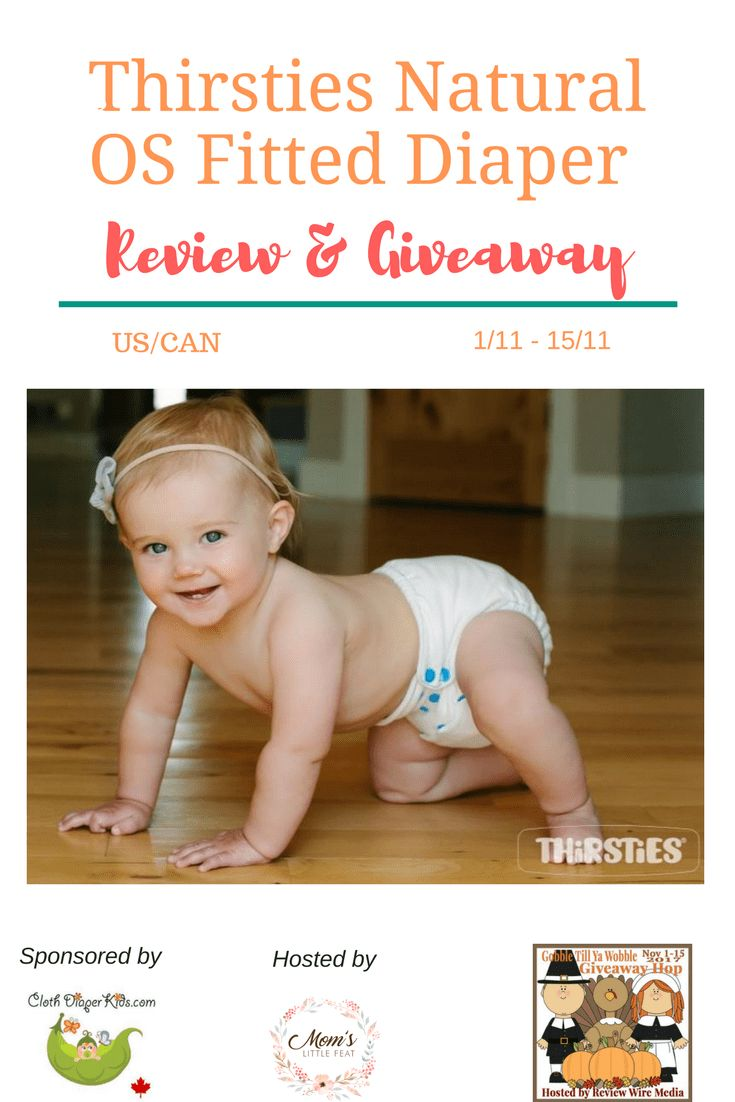 Thirsties Natural OS Fitted Diaper Review