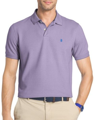 b91edeffb Izod Mens Light Oxford Advantage Polo Shirt, Men's, Size: Medium, Purple