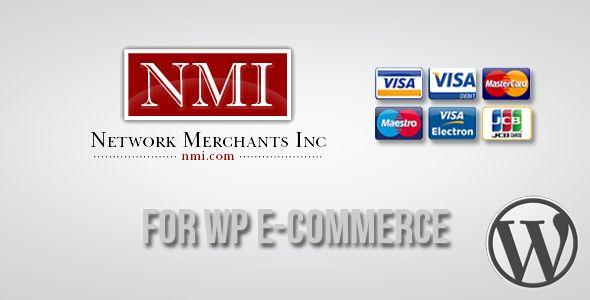 Network Merchants Gateway for WP E-Commerce   http://codecanyon.net/item/network-merchants-gateway-for-wp-ecommerce/3474847?ref=damiamio       Network Merchants e-commerce payment gateway enables companies to process online transactions in real-time anywhere in the world.   NMI (Network Merchants Inc.) Payment Gateway is a Wordpress Plugin which allows the WP E -Commerce plugin to accept credit card payments without worrying the Customers Credit Cards Details which are taken care by the NMI…
