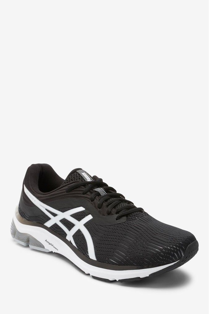 Mens Asics Gel Pulse 11 Trainers Black Asics Asics Gel