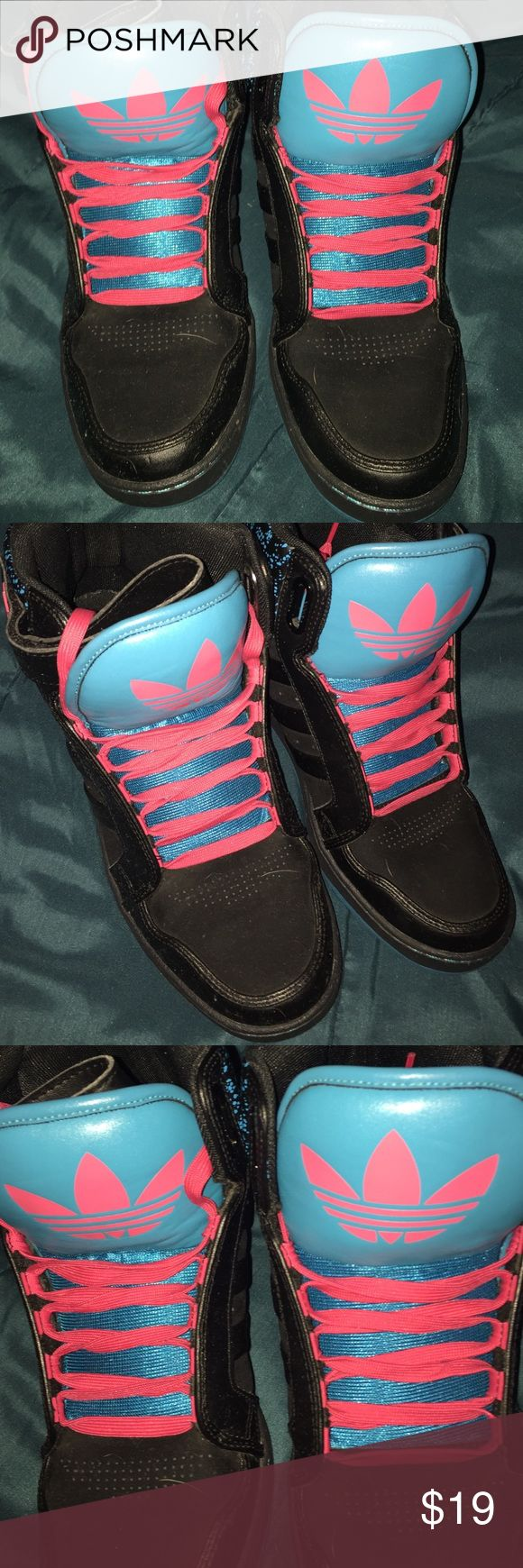 Adidas NEO high tops Adidas NEO Hightops excellent condition US size 10 Adidas Shoes Sneakers