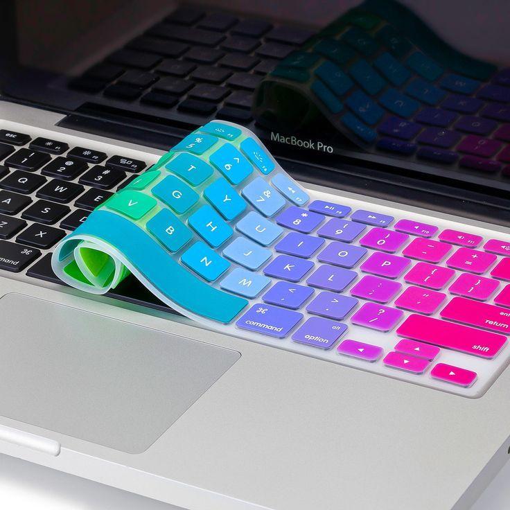 Rainbow Silicone Skin Keyboard Cover – #Cover #key…