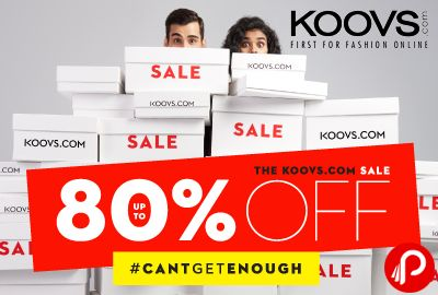 Koovs brings Up To 80% OFF SALE #TrueStory and Shop Till You #CantGetEnough.  http://www.paisebachaoindia.com/truestory-up-to-80-off-sale-shop-till-you-cantgetenough-koovs/