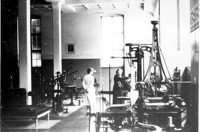 Zanderinstitut Berlin anno 1910-20