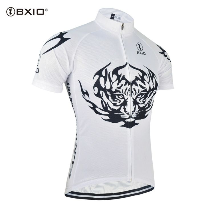 BXIO 2017 Summer Cycling Clothes Man Roupas Para Ciclismo Profesional Mountain Bicycle Clothing White Short Sleeve Bike Jersey #Affiliate