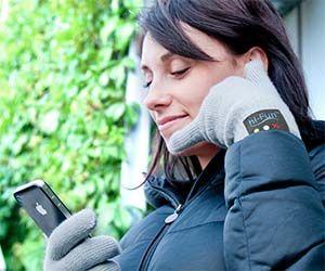 Gants Téléphone Bluetooth