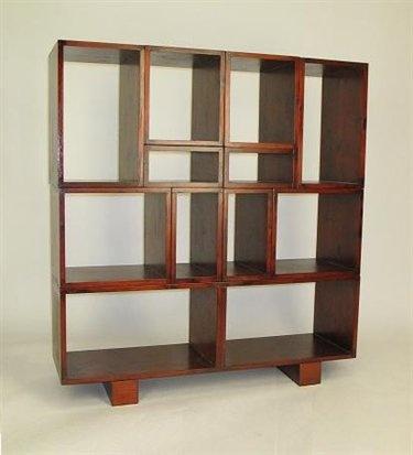 wayborn tate modular wall unit in brown bookcases office furniture furniture