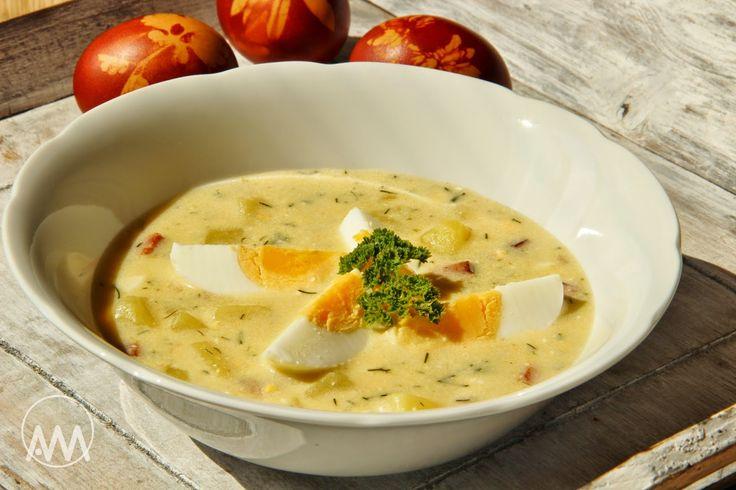 V kuchyni vždy otevřeno ...: Vaječno - bramborová polévka s koprem