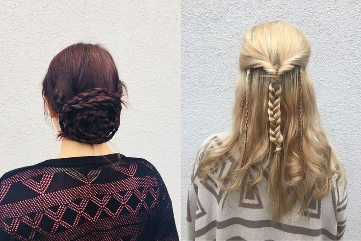 Heute haben wir ein paar Frisur Inspirationen für euch, die perfekt zu diesem windigen Wetter heute passen. Ihr seid gestylt ohne all zu viel Aufwand. Ob Blond, Braun oder eine andre Haarfarbe hier findet Ihr das Richtige für einen stylischen Donnerstag.     Für die Frisuren wurden unsere praktischen Invisibobble verwendet, da es diese in...