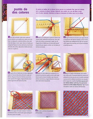 Same as tri loom weaving
